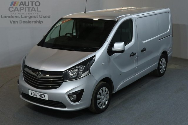 2017 17 VAUXHALL VIVARO 1.6 2900 SPORTIVE 120 BHP L1 H1 SWB LOW ROOF AIR CON E6 EURO 6 ENGINE, ONE OWNER, SERVICE HISTORY, MANUFACTURE WARRANTY