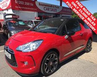 USED 2013 13 CITROEN DS3 1.6 E-HDI DSTYLE PLUS  *ONLY 33,000 MILES*