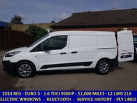 2014 FORD TRANSIT CONNECT 210 L2 LWB ECONETIC WITH FULL HISTORY £7295.00