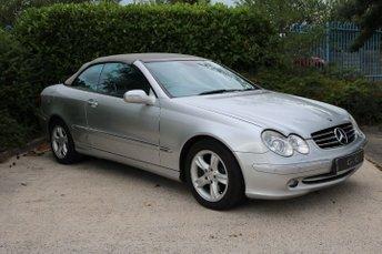 2004 MERCEDES-BENZ CLK 2.6 CLK240 AVANTGARDE 2d AUTO 170 BHP £2795.00