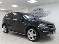 USED 2011 11 MERCEDES-BENZ M CLASS 3.0 ML350 CDI BLUEEFFICIENCY GRAND EDITION 5d  COMAND, SAT NAV, FULL LEATHER, DVD