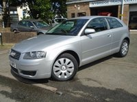 USED 2005 54 AUDI A3 1.6 SPECIAL EDITION 16V 3d 101 BHP 2 FORMER KEEPER+NEW MOT