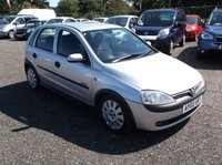 USED 2002 02 VAUXHALL CORSA 1.4 ELEGANCE 16V 5d AUTO 90 BHP AUTOMATIC / POWER STEERING, SERVICE HISTORY, VERY ECONOMICAL & RELIABLE, DRIVES SUPERBLY !!