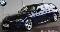 USED 2015 65 BMW 3 SERIES 320d M-SPORT TOURING 5 DOOR AUTO 188 BHP