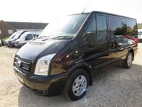 2012 FORD TRANSIT 2.2 TDCi 280 LIMITED SWB LOW ROOF 140 BHP 45667 MILES NO VAT £11995.00