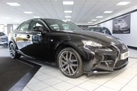 2014 LEXUS IS 300 2.5 300H F SPORT AUTO 220 BHP £15450.00