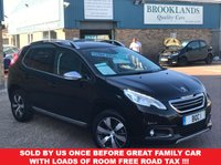 USED 2015 15 PEUGEOT 2008 1.6 BLUE HDI S/S ALLURE 5d 100 BHP ZERO ROAD TAX !!!  Sold By Us Once Before Great Family Car With Loads of room FREE ROAD TAX !!!