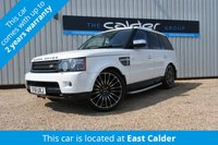 USED 2011 61 LAND ROVER RANGE ROVER SPORT 3.0 SDV6 SE 5d AUTO 255 BHP