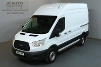 USED 2015 64 FORD TRANSIT 2.2 330 124 BHP L3 H3 LWB HIGH ROOF AIR CON ONE OWNER, SERVICE HISTORY