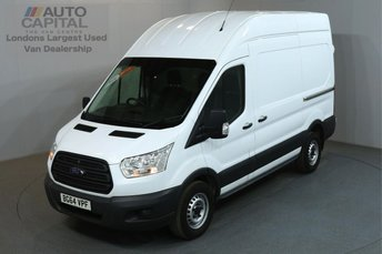2015 FORD TRANSIT 2.2 330 124 BHP L3 H3 LWB HIGH ROOF AIR CON £9990.00
