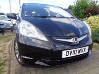 USED 2010 10 HONDA JAZZ 1.2 I-VTEC SI 5d 89 BHP **1 Owner FHSH 8 Services July 2019 Mot**