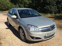 USED 2010 59 VAUXHALL ASTRA 1.8 ELITE 5d 140 BHP Low Tax, Alloy Wheels, A/C