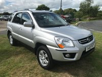 2010 KIA SPORTAGE 2.0 XS CRDI 4x4 fsh 2 owners hard to find like this lots of money spent  £5495.00