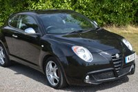 "USED 2013 13 ALFA ROMEO MITO 1.2 JTDM-2 DISTINCTIVE 3d 85 BHP 1 OWNER FASH 17"" ALLOYS BLUETOOTH CRUISE REAR PARK AIDS TAX £0"