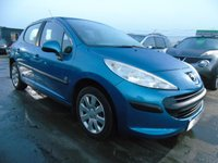 USED 2007 07 PEUGEOT 207 1.4 S 5d 73 BHP SERVICE HISTORY LOW MILES CLEAN CAR