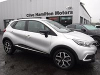 "USED 2018 67 RENAULT CAPTUR 1.5 DYNAMIQUE NAV DCI 5d 90 BHP 17"" Emotion Alloys Blk Inserts"