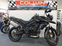 2013 TRIUMPH TIGER 800cc TIGER 800 XC ABS  £4995.00