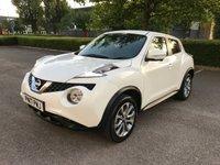 2017 NISSAN JUKE 1.6 TEKNA XTRONIC 5d AUTO 117 BHP £10750.00