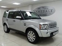 2013 LAND ROVER DISCOVERY 3.0 4 SDV6 XS 5d AUTO 255 BHP £20490.00