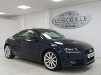 USED 2011 60 AUDI TT 2.0 TDI QUATTRO SPORT 2d 170 BHP 1 OWNER, FULL AUDI HISTORY, SAT NAV, LEATHER