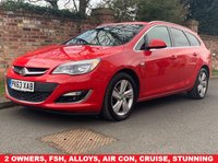 USED 2013 63 VAUXHALL ASTRA 2.0 SRI CDTI S/S 5d 163 BHP 2 OWNERS, FULL SERVICE HISTORY, 1YR MOT  EXCELLENT CONDITION, ALLOYS, AIR CON, CRUISE  FOGS, RADIO CD, E/WINDOWS, R/LOCKING, FREE WARRANTY, FINANCE AVAILABLE, HPI CLEAR, PART EXCHANGE WELCOME,
