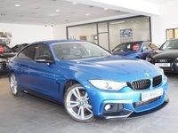 USED 2014 14 BMW 4 SERIES 2.0 420D M SPORT GRAN COUPE 4d AUTO 181 BHP M PERFORMANCE STYLING+SAT NAV