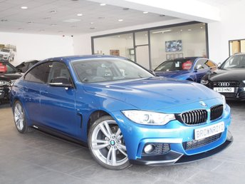 2014 BMW 4 SERIES 2.0 420D M SPORT GRAN COUPE 4d AUTO 181 BHP £16490.00