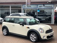 USED 2013 62 MINI CLUBMAN 1.6 ONE D 5d 90 BHP Free MOT for Life