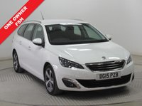 USED 2015 15 PEUGEOT 308 1.6 HDI S/S SW ALLURE 5d 115 BHP 1 Owner, Full Peugeot service History, MOT until 29th January 2019, £0 Road Fund Licence, Sat Nav, Reversing Camera, Front & Rear Parking Sensors,Rear Parking Sensors,Front and Rear Parking sensors, Bluetooth, Air Conditioning, Alloys. Free Warranty. Nationwide Delivery available. Finance Available at 9.9% APR Representative.