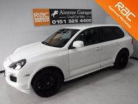 USED 2009 59 PORSCHE CAYENNE 4.8 GTS TIPTRONIC S 5d AUTO 405 BHP FULL SERVICE HISTORY LOOKS AND DRIVES LIKE NEW, GLEAMING WHITE PAINT WORK WITH BLACK WHEELS AND RED UPGRADED CALIPERS .PORSCHE UPGRADED QUAD EXHAUST, THE INTERIOR IS UNMARKED,HALF LEATHER   WITH PORSCHE EMBOSSED HEAD RESTS AND ELEC HEATED, MEMORY SEATS, TOUCH SCREEN SAT NAV, BOSE SOUND SYSTEM, BLUETOOTH