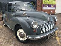 1959 MORRIS MINOR 0.9 1000 2d  £1595.00