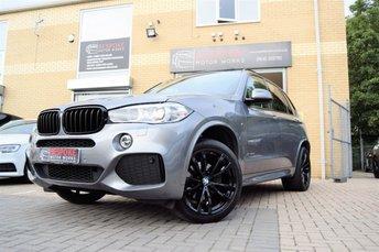 2015 BMW X5 3.0 XDRIVE30D M SPORT AUTOMATIC £32995.00