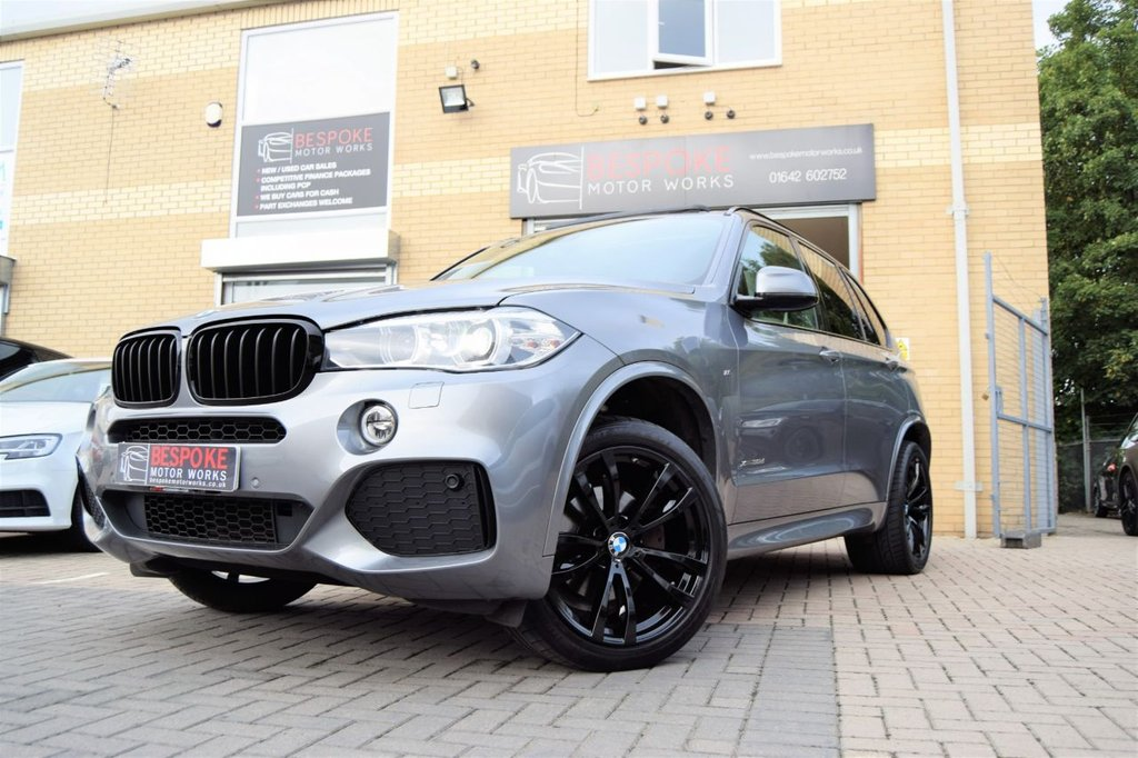 USED 2015 65 BMW X5 3.0 XDRIVE30D M SPORT AUTOMATIC
