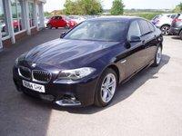 2014 BMW 5 SERIES 2.0 520D M SPORT 4d AUTO 188 BHP £14995.00