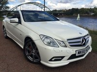 2010 MERCEDES-BENZ E CLASS 2.1 E220 CDI BLUEEFFICIENCY SPORT 2d 170 BHP £13990.00