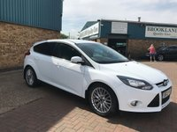 USED 2012 12 FORD FOCUS 1.0 ZETEC 5d 99 BHP Only £20 A Year Road Tax !!  Sold By Us Once Before !! Part Exchange Welcome Great Finance Options ! We Are Open 7 Days A Week !!