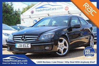 2011 MERCEDES-BENZ CLC CLASS 1.8 CLC200 KOMPRESSOR SPORT 3d AUTO 184 BHP £8250.00