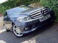 2010 MERCEDES-BENZ C CLASS 1.6 C180 KOMPRESSOR BLUEEFFICIENCY SPORT 5d AUTO 156 BHP £7999.00