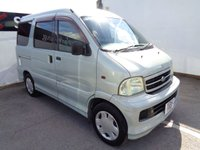 2002 DAIHATSU ATRAI 7 1.3 1d  2 SEATER CAMPER VAN WITH DOUBLE BED IN THE BACK £3475.00