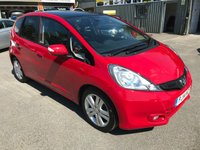2014 HONDA JAZZ 1.3 I-VTEC EX 5 DOOR 98 BHP AUTOMATIC WITH A PANORAMIC ROOF AND ONLY 30000 MILES £8999.00