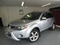 USED 2008 53 MITSUBISHI OUTLANDER 2.0 INTENSE WARRIOR H-LINE DI-D 5d 139 BHP