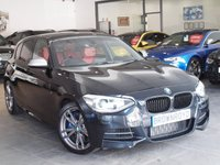 USED 2015 15 BMW 1 SERIES 3.0 M135I 5d 316 BHP auto +SAT NAV+HTD LEATHER+FSH