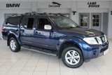 USED 2013 13 NISSAN NAVARA 2.5 DCI TEKNA 4X4 SHR DCB 1d 188 BHP FULL LEATHER SEATS + NO V A T + FULL SERVICE HISTORY + SATELLITE NAVIGATION + TRUCKMAN TOP + HEATED FRONT SEATS + BLUETOOTH + CRUISE CONTROL + 17 INCH ALLOYS