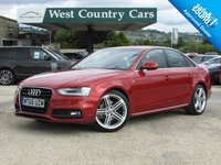 USED 2015 65 AUDI A4 2.0 TDI QUATTRO S LINE NAV 4d 187 BHP High Spec, Stand Out Colour