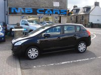 USED 2010 60 PEUGEOT 3008 1.6 ACTIVE HDI 5d 110 BHP ONLY 66000 MILES FROM NEW