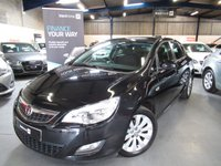 2011 VAUXHALL ASTRA 1.4 EXCLUSIV 5d 85 BHP £5790.00