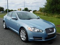 USED 2010 60 JAGUAR XF 3.0 LUXURY V6 4d AUTO 238 BHP SAT NAV, LEATHER, REAR CAMERA