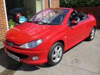 2004 PEUGEOT 206 1.6 ALLURE S COUPE CABRIOLET 2d 108 BHP £SOLD