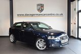USED 2008 58 AUDI A3 1.4 TFSI S LINE 3DR 123 BHP + FULL BLACK LEATHER INTERIOR + FULL SERVICE HISTORY + TELEPHONE CONNECTION + PARKING SENSORS + SPORTS SEATS + AUXILIARY PORT + 18 INCH ALLOY WHEELS +