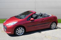 USED 2007 07 PEUGEOT 207 1.6 GT COUPE CABRIOLET HDI 2d 108 BHP LOW MILEAGE FINANCE ME TODAY-UK DELIVERY POSSIBLE
